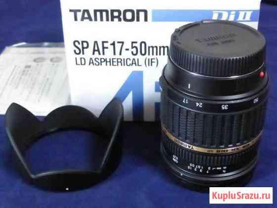 Продам объектив Тамрон 17-50 2.8,для sony A Рыбинск
