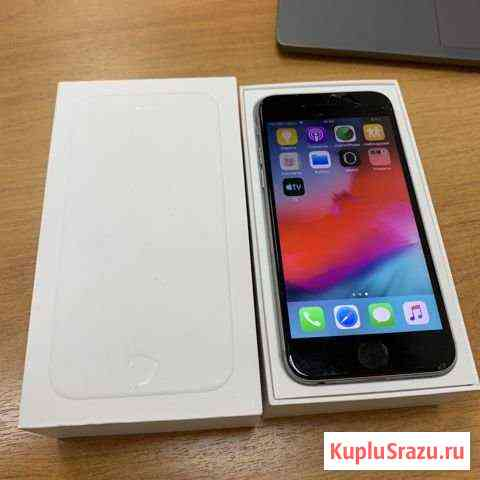 iPhone 6 16 black оригинал бу (imei3580) Киров