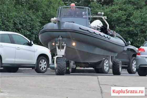 Амфибийный катер Sealegs 7.7 RIB Wide Console Нижний Новгород