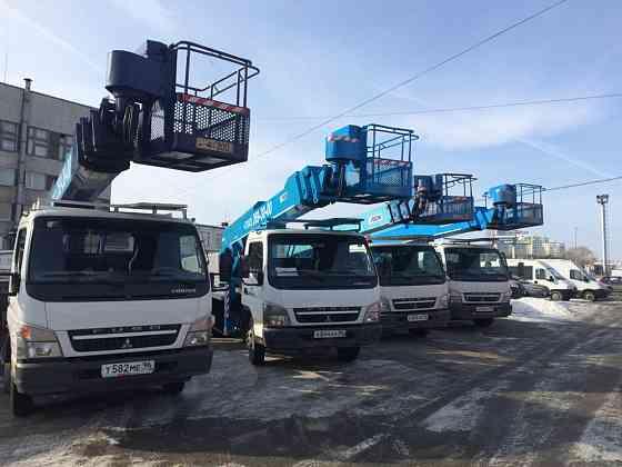 Услуги автовышки от 15 до 22 метров платформы Новокузнецк