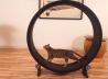 Беговое колесо-тренажер для кошек и небольших собак