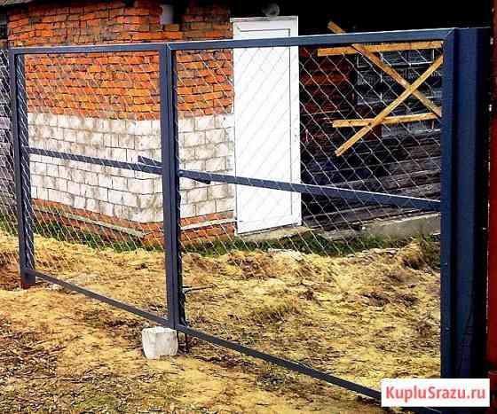 Ворота и калитки металлические Рязань