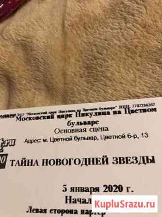 Билеты в цирк Никулина 5 января тайна новогодней з Москва