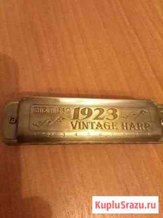 Губная гармоника Hering 1923 vintage harp Мытищи