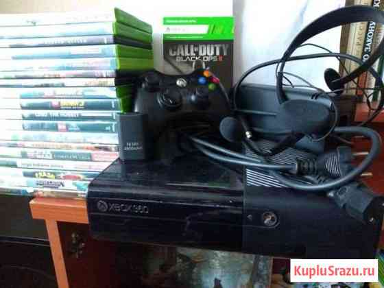 Xbox 360+диски с играми Подольск