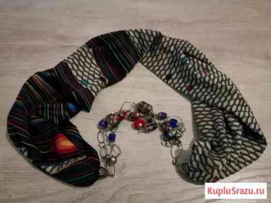 Шейный платок с украшением Одинцово