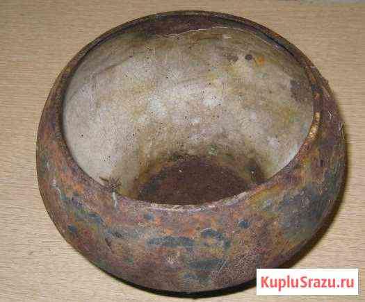 Старинный чугунный горшок на 4 литра Мытищи