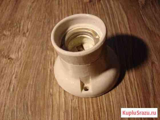 Патрон керамический и карболит для лампы СССР Анапа