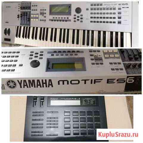 Yamaha motif ES 6+Roland R8 mk2 Новороссийск