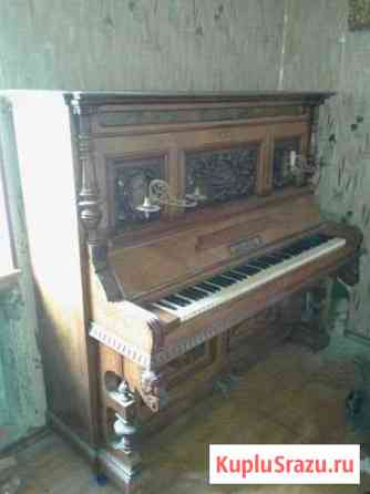 Антикварное немецкое пианино. Торг Крымск