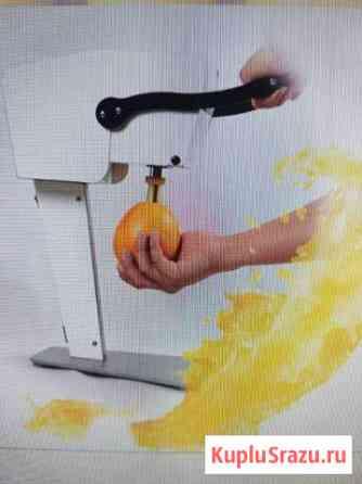 Соковыжималка для фреша внутри фрукта Сочи