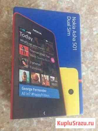 Nokia Asha 501 Dual Sim Black Казань