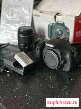 Фотоаппарат canon 600d Екатеринбург