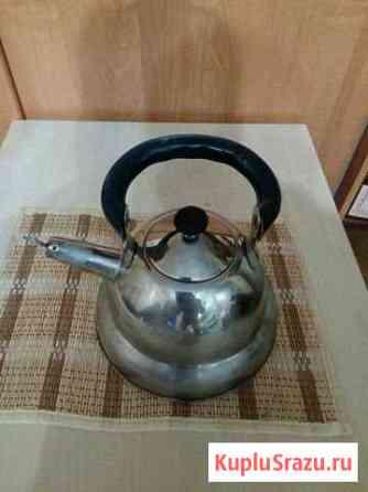 Чайник из нержавейки со свистком 2,5л Нижний Новгород