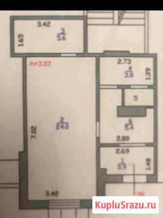 Коммерческое помещение, 44 кв м Гатчина
