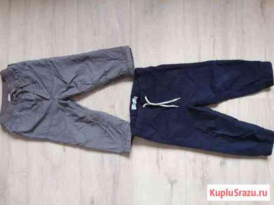 Теплые брюки с подкладом на рост 86 Мурино