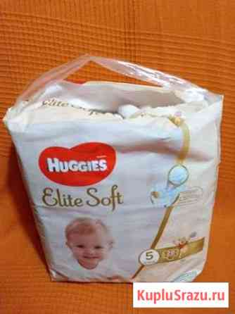 Подгузники Huggies Elite Soft 5(12-22 кг) Луга