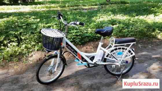 Электровелосипед kailuc 20 новый продам Бугры