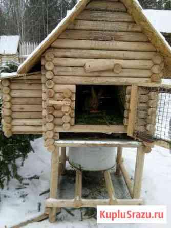 Клетка деревянная для кроликов Форносово