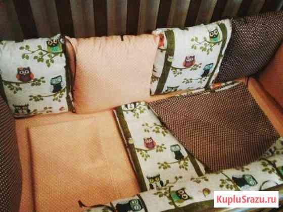 Бортик валик + подушки Яблоновский