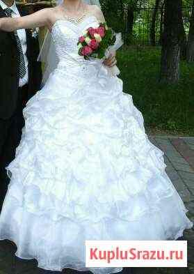Свадебное платье пышное, красивое Белогорск