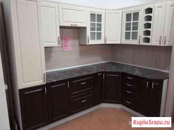 Кухонный гарнитур угловой мдф модульный Астрахань