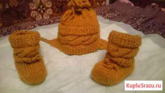 Комплект шапка-пинетки Барнаул