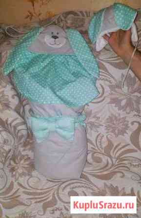 Конверт-одеяло на выписку Благовещенск