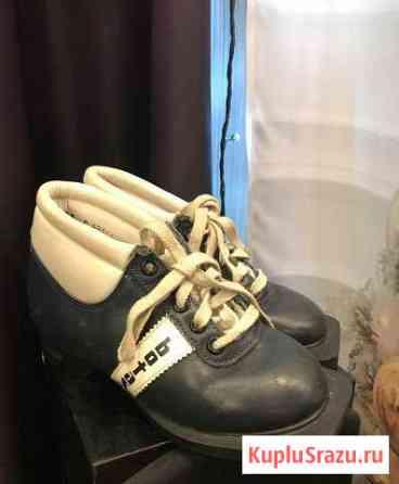 Лыжные ботинки, размер 19см ступня Северодвинск