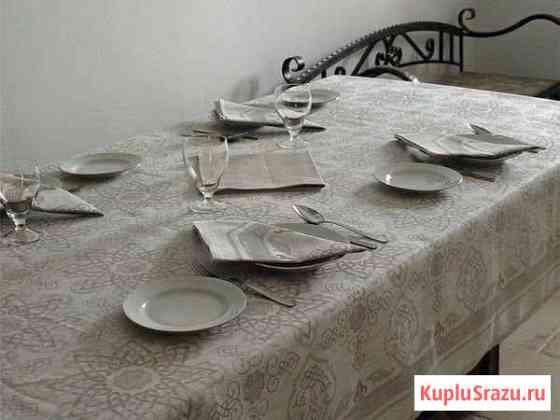 Столовый комплект (белорусский лён) Котлас