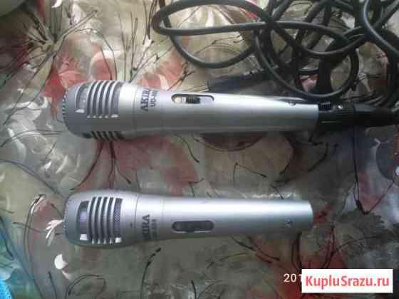 Микрофоны караоке Астрахань