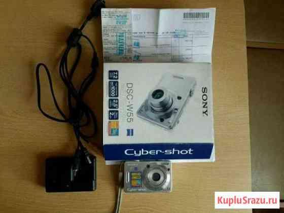 Фотоаппарат Sony dsc-w55 Белгород