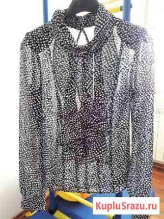 Шифоновая блузка и шелковая юбка Муром