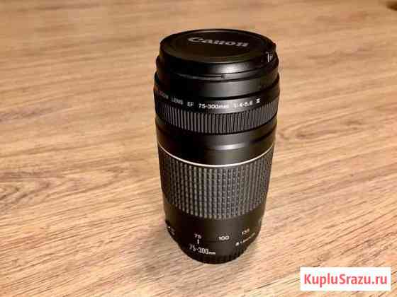 Объектив Canon EF 75-300mm f/4-5.6 III Владимир