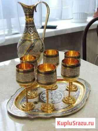 Винный сервиз из серебра(возможен обмен) Камышин