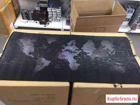 Коврик большой карта мира Махачкала