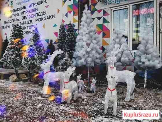 Новогодние фигуры со светодиодной подсветкой Ковров
