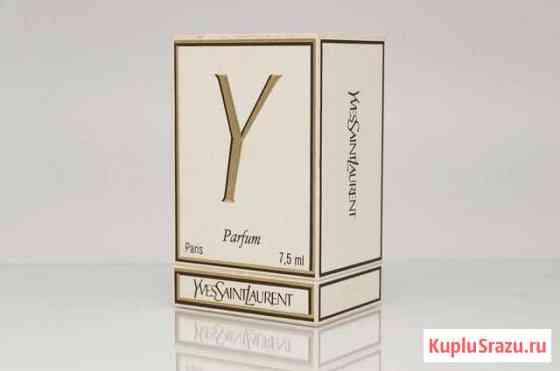 Y (Yves Saint Laurent) духи 7,5 мл винтаж Череповец