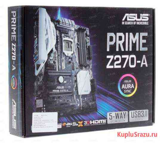 Asus prime Z270-A Волгоград