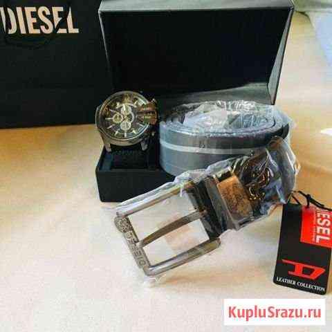 Мужские часы, браслет, ремень и упаковка Череповец