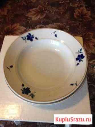 Антикварные тарелки под 1-е блюдо Череповец