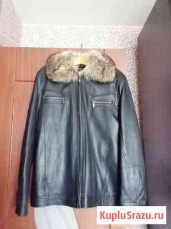 Кожаная куртка с мехом Воронеж