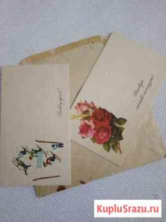 Конверт и открытки Россошь