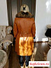 Пальто из чистой кожи