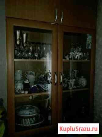 Шкаф 2-створчатый со стеклом Иваново