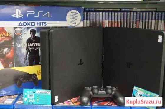 Sony PlayStation 4 slim 500GB нов в парке игр Иваново