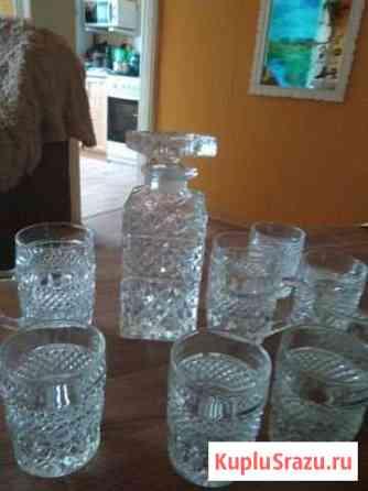 Штоф со стаканами под виски Тейково
