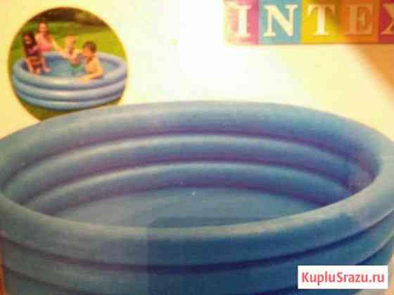 Бассейн надувной новый intex 168/40см Иркутск