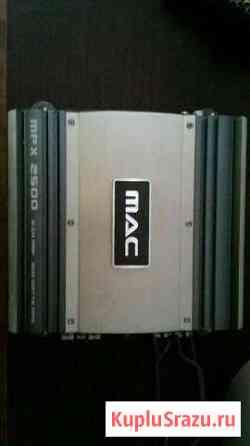Усилитель mac mpx 2500 600 watts и провода тюльпан Нальчик