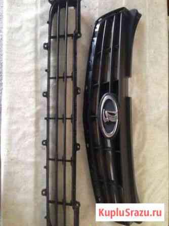 Решётка радиатора Приора 2, бампер задний Терек